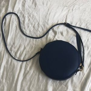 cobalt blue some society trendy circle bag ♠️